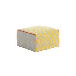 Bandas Small Pouf B Yellow 34 | Pufs | GAN