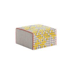 Bandas Small Pouf C Yellow 36 | Pufs | GAN