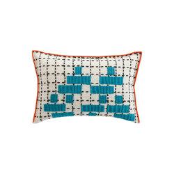 Bandas Cushion C Turquoise 5 | Cojines | GAN