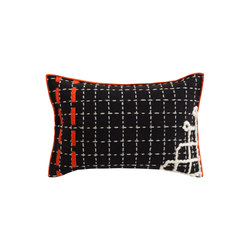 Bandas Cushion D Black 7 | Coussins | GAN