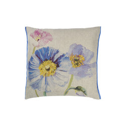 Cushion Papaver - Cobalt | Kissen | Designers Guild