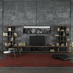 Karnaval Wall System & TV Unit | Estantería | Koleksiyon Furniture