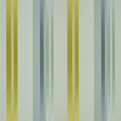 Dauphine Stripe - Aqua | Curtain fabrics | Designers Guild
