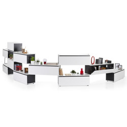 Tube Storage System | Shelves | Koleksiyon Furniture