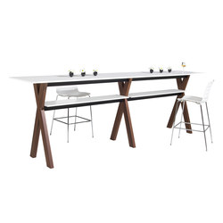 Partita Bar Table | Mesas contract | Koleksiyon Furniture