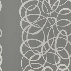Marquisette - Graphite | Wallcoverings | Designers Guild