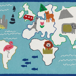 Kids Rugs - Around The World | Tapis / Tapis design | Designers Guild