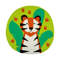 Kids Rugs - Jungle Playtime Leaf | Tapis / Tapis design | Designers Guild