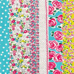 Kids Rugs - Daisy Stripe Peony | Alfombras / Alfombras de diseño | Designers Guild