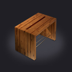 Teak Stool | Bath stools / benches | Vallvé