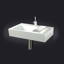 Plano Inclinado Wall Mounted Washbasin | Lavabos | Vallvé