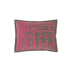 Canevas Cushion Abstract Medium Pink 5 | Kissen | GAN
