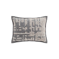 Canevas Cushion Abstract Carbon 7 | Coussins | GAN