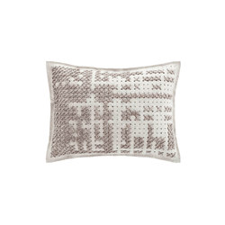 Canevas Cushion Abstract Silver 8 | Coussins | GAN