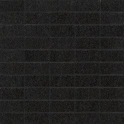 Slimtech Basaltina | Mosaico mattone lappata | Floor tiles | Lea Ceramiche