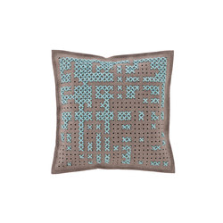 Canevas Cushion Abstract Blue 10 | Kissen | GAN