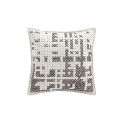Canevas Cushion Abstract Grey 11 | Kissen | GAN