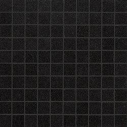 Slimtech Basaltina | Mosaico quadro lappata | Piastrelle ceramica | Lea Ceramiche