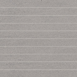 Slimtech Basaltina | Mosaico striscia sabbiata | Floor tiles | Lea Ceramiche