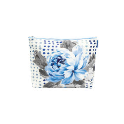 Washbag - Amlapura Cobalt Large | Beauty accessory storage | Designers Guild