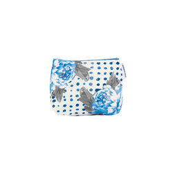 Washbag - Amlapura Cobalt Small | Beauty accessory storage | Designers Guild