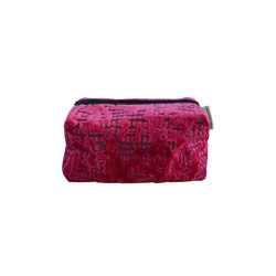 Washbag - Boratti Fuchsia | Beauty accessory storage | Designers Guild