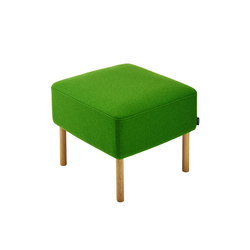 Konnekt Pouf | Modular seating elements | Swedese