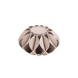 Ruff Pouf High Grey 1 | Poufs / Polsterhocker | GAN