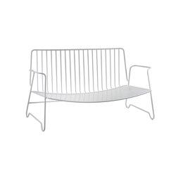 Lounge Sofa white | Gartensofas | Serax
