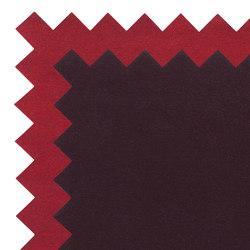 Zig Zag Rug Dark Magenta/Red 2 | Tappeti / Tappeti d'autore | GAN