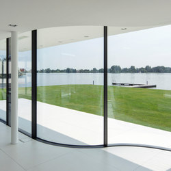 Arc sliding window | Porte interni | Sky-Frame