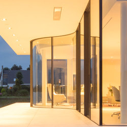 Arc sliding window | Glass room doors | Sky-Frame