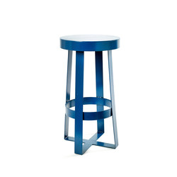 Snello Stool blue | Bar stools | Serax
