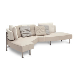 Wing Open Base Corner sofa | Sofás | Jori