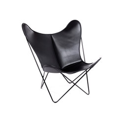 Hardoy | Butterfly Chair | Sleek Leather | Fauteuils | Manufakturplus