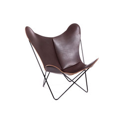 Hardoy Butterfly Chair Nature Maron | Sillones lounge | Manufakturplus
