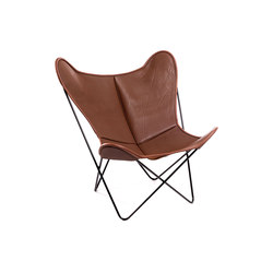 Hardoy Butterfly Chair Neck-Leder Coffee | Lounge chairs | Manufakturplus