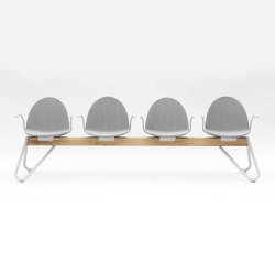 Camel | Beam / traverse seating | Segis