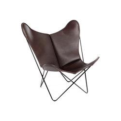 Hardoy | Butterfly Chair | Sleek Leather | Fauteuils | Manufakturplus