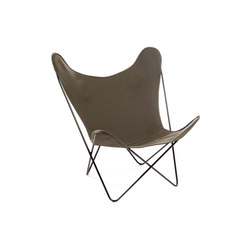 Hardoy Butterfly Chair Baumwolle Oliv | Lounge chairs | Manufakturplus