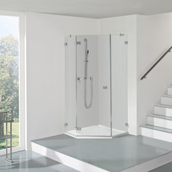Collection 3 Plus - Five 1 Swing door | Shower screens | Duscholux AG