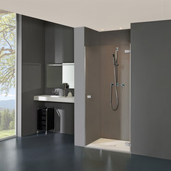 Collection 3 Plus - Swing door in recess | Shower screens | Duscholux AG