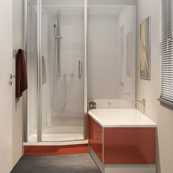 Piccolo Bella Vita - System PBV 5311/PBV 5312 | Shower screens | Duscholux AG