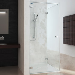 Collection 3 Plus - Swing door with side panel | Shower screens | Duscholux AG