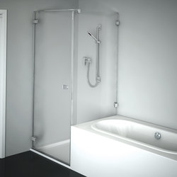 Collection 3 Plus - Swing doorside panel shortened | Shower screens | Duscholux AG