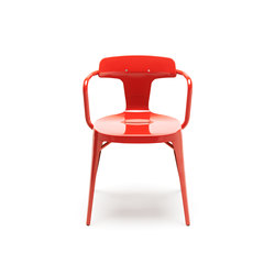 T14 stainless steel chair coquelicot | Sillas multiusos | Tolix