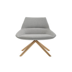 Dunas XL Wood | Fauteuils d'attente | Inclass
