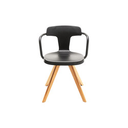 T14 chair wood | Sillas multiusos | Tolix