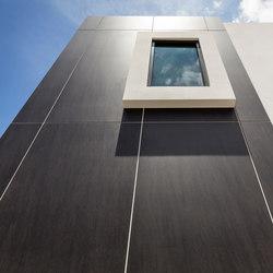 Facade | Fusion Basalt Black | Ejemplos de fachadas | Neolith