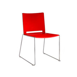 Alfa Indoor Stacking Side Chair | Chairs | Aceray